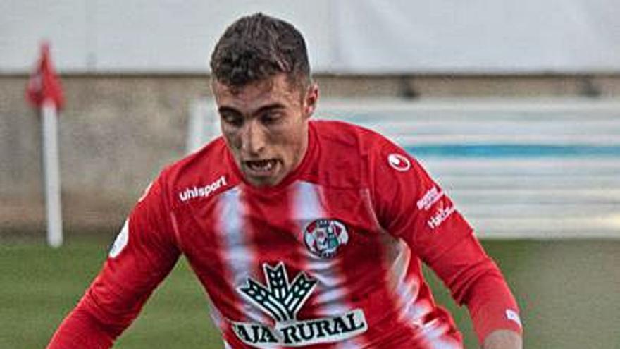 """Guille Perero, del Zamora CF: """"No hemos sabido vivir en el 1-0, ni mantener la concentración"""""""