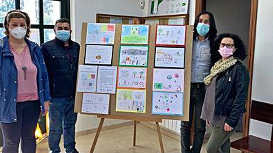 Portas celebra el Día de la Salud con un concurso de dibujos entre los escolares