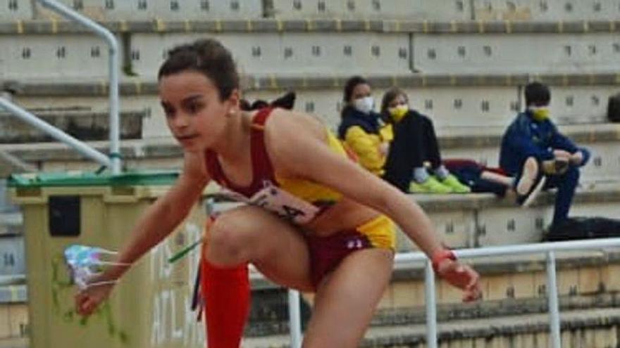 Verónica Sánchez ganó el control de 5.000 lisos en Salamanca