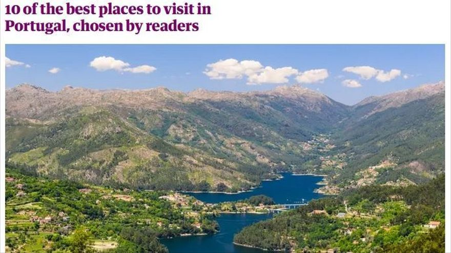 The Guardian sitúa al Miño en el 'top 10' de los mejores destinos portugueses