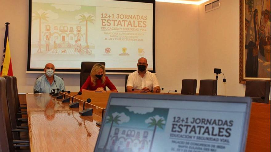El Palacio de Congresos de Ibiza alberga las Jornadas estatales de Educación Vial