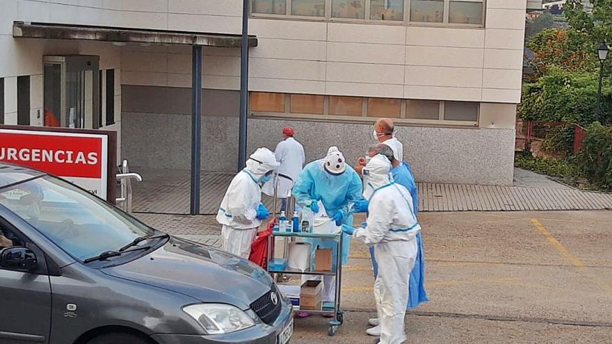 Sanidad supera el millar de PCR en la comarca sanabresa