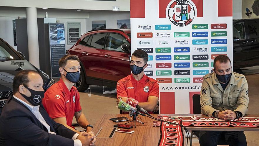 Adrián Herrera y Jacobo, dos goleadores rojiblancos