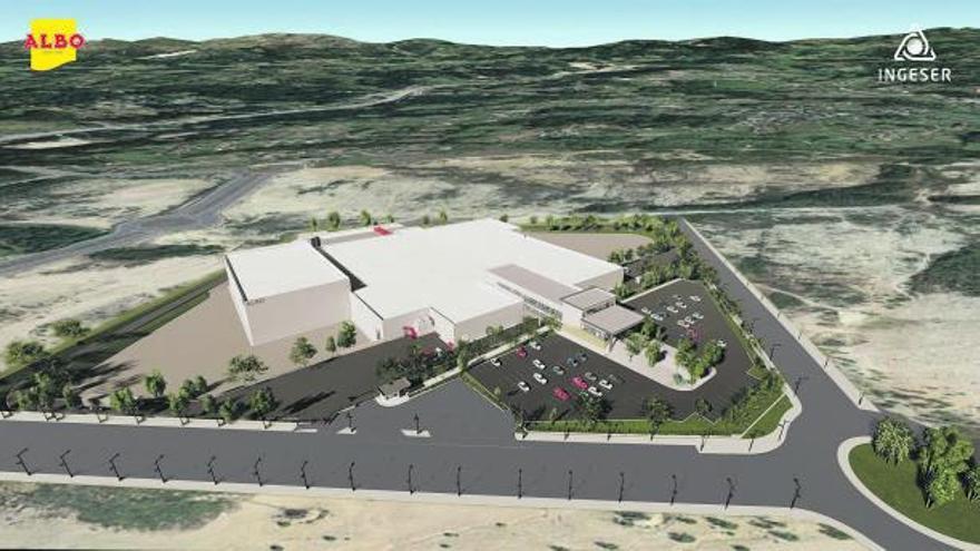Albo inicia en enero su planta en la Plisan, con capacidad para 100 toneladas diarias