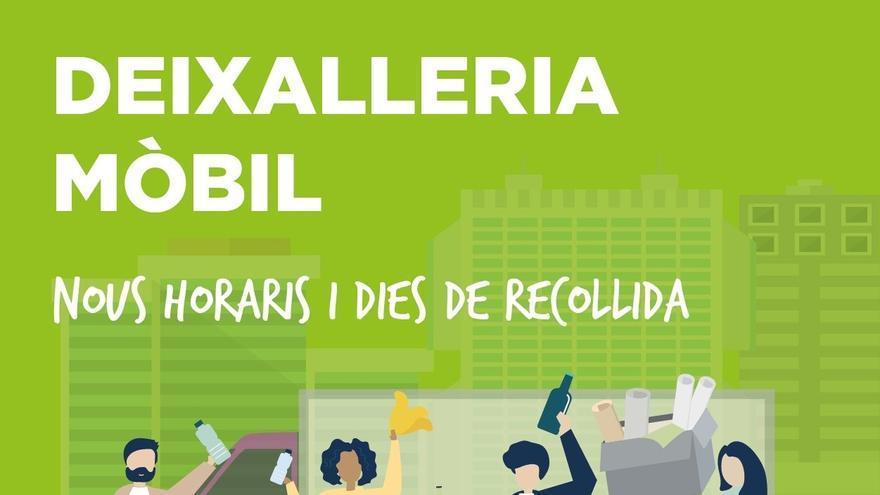 La 'Deixalleria' móvil volverá a estar operativa en Marratxí hasta marzo