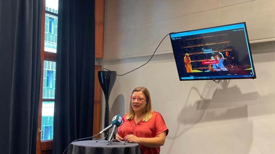 El Teatre Principal abre una plataforma virtual de contenidos a la carta