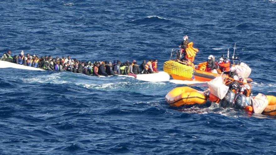 El Ocean Viking rescata a otros 140 migrantes en el Mediterráneo