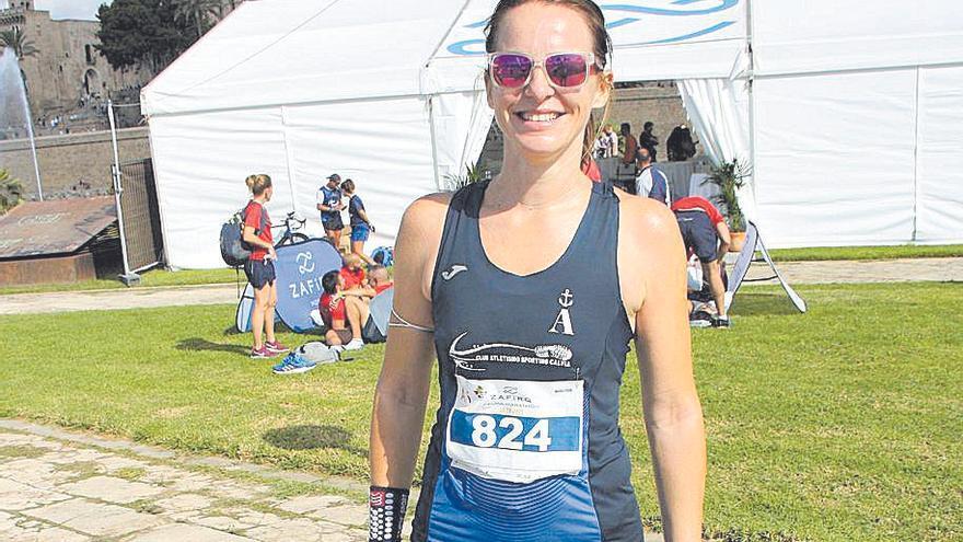 Hayley Tilley, nueva campeona de Balears en féminas.