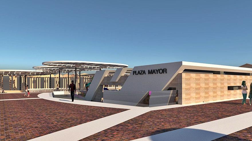 El Ayuntamiento de Calp prepara  la reforma de su plaza Mayor