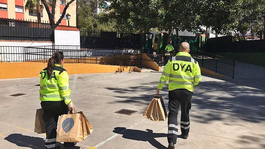 La demanda de ayuda alimentaria desborda las previsiones en Marbella