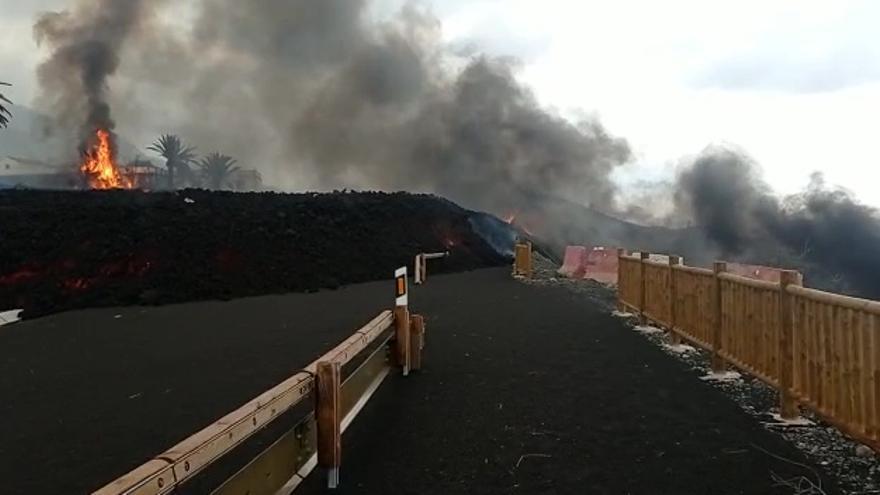 El volcán de La Palma puede seguir expulsando lava al menos hasta noviembre