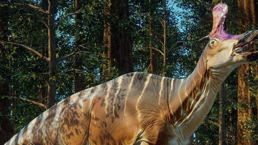 Los dinosaurios podrían haber cruzado el océano