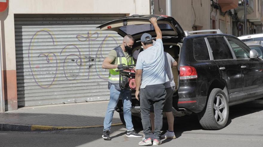 Gran operación policial contra el tráfico de drogas en Palma