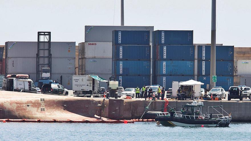 Continúa la búsqueda de un estibador en el Puerto de Castellón