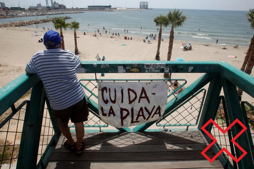 Playa San Gabriel. Alicante.