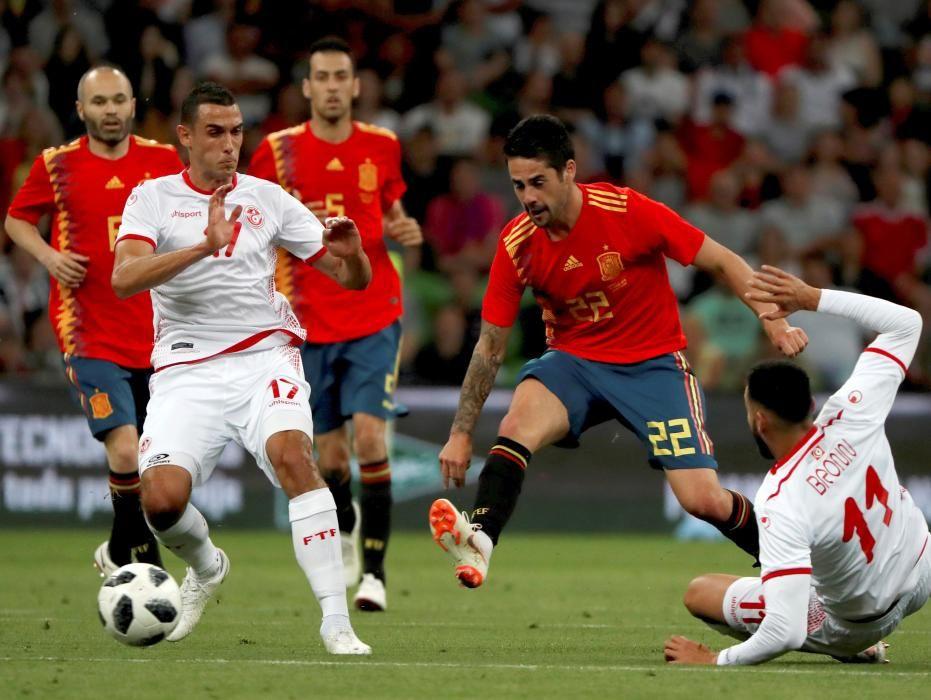 Túnez-España