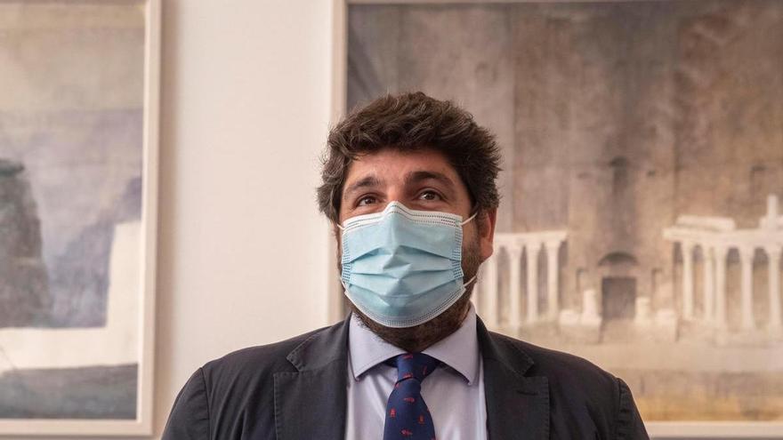 López Miras se agarra al recurso planteado por el PP, Vox y Cs para evitar los indultos