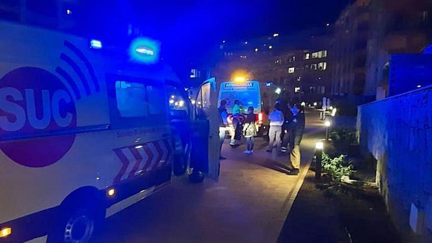 Un migrante cae desde la tercera planta de un hotel en Arguineguín
