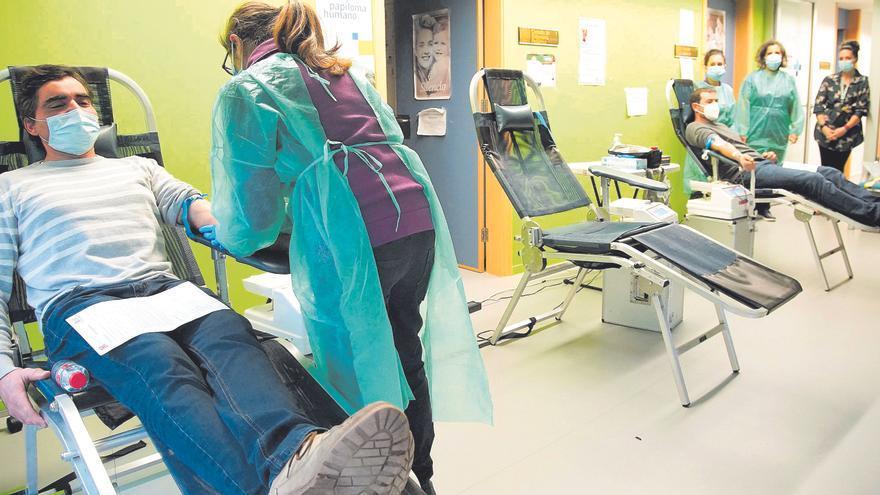 Un equipo médico recorre la provincia de Zamora en busca de sangre