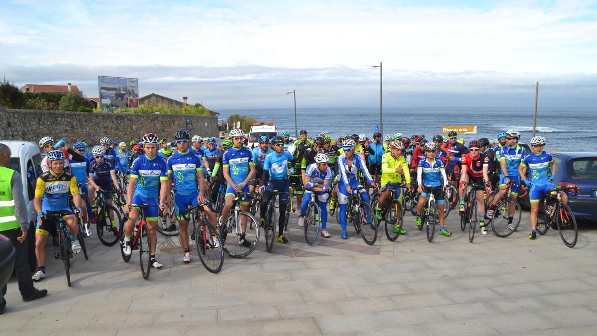 Participantes en una edición anterior del Desafío Talaso Atlántico.