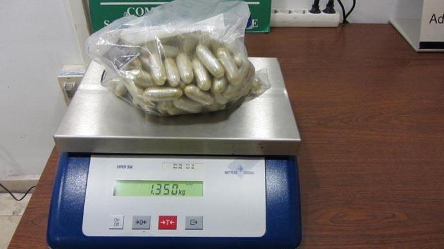 Detenido en Tenerife Norte con 94 cápsulas de heroína en su organismo