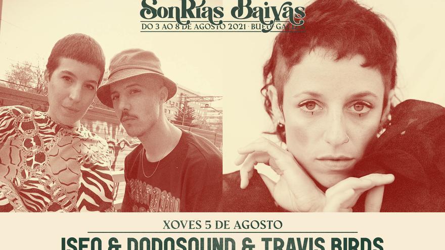 SonRías Baixas - Iseo & Dodosound + Travis Birds