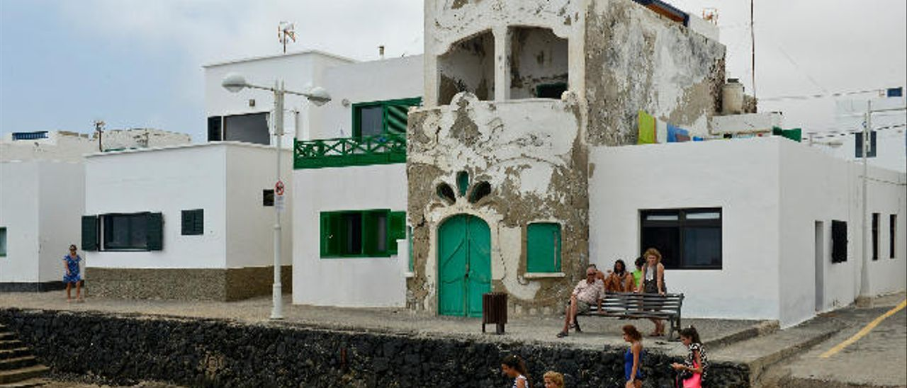 La casa modernista de Famara.