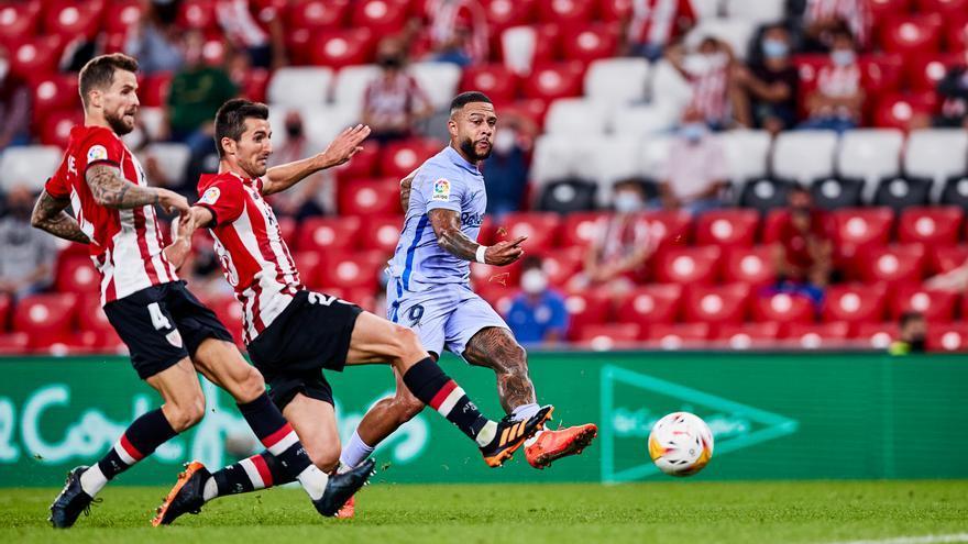 Athletic Club y Barcelona empatan en un intenso duelo