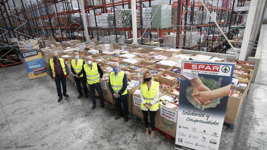SPAR Gran Canaria recoge más de 47.000 kilos para el Banco de Alimentos