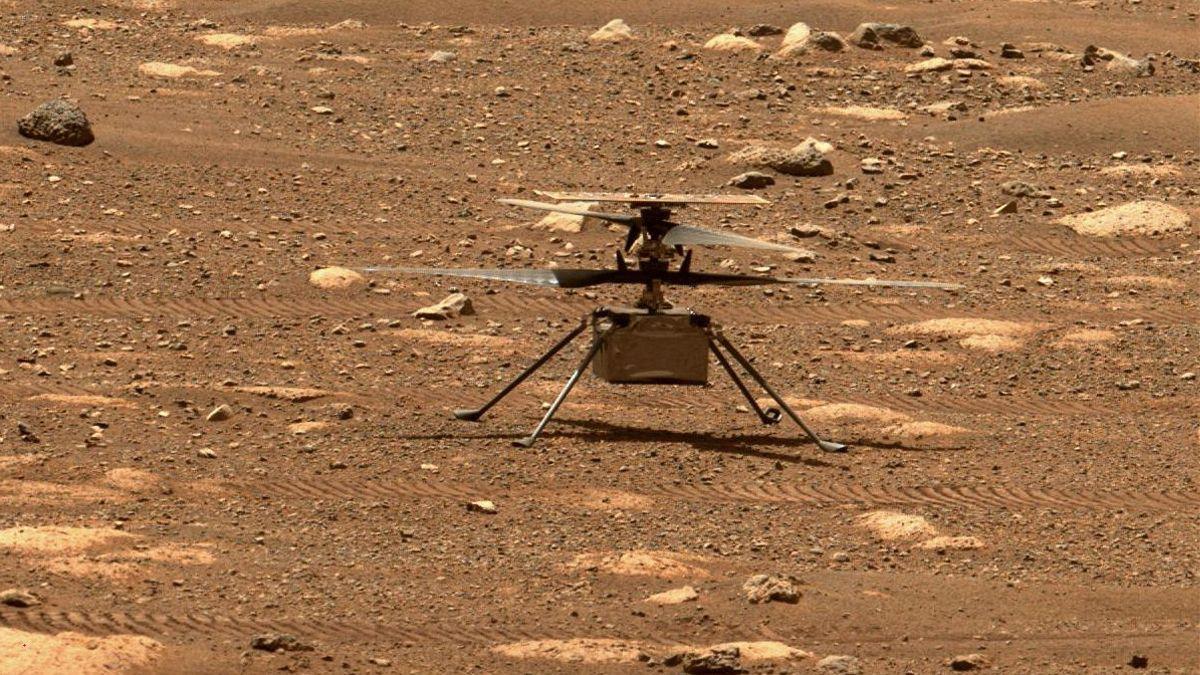 Todo listo para el primer vuelo del helicóptero de la NASA sobre Marte