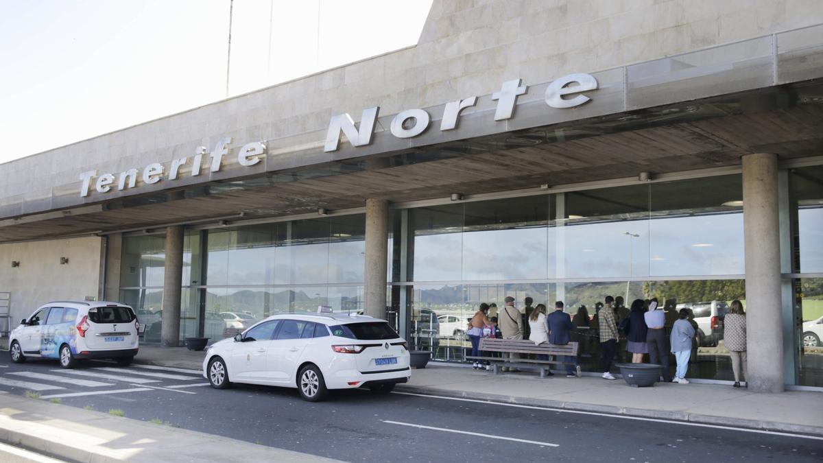 Aeropuerto Tenerife Norte en una imagen de archivo.