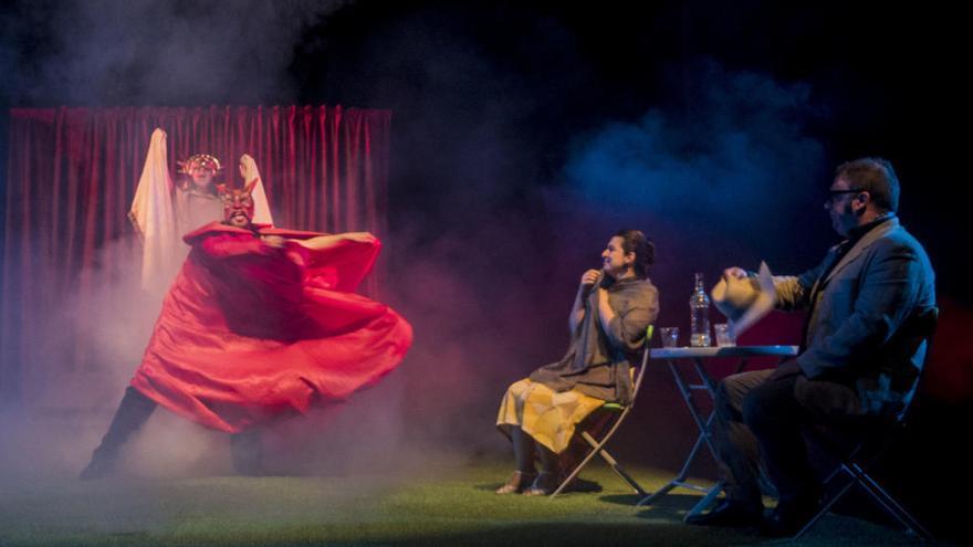"""""""Teatro del Norte"""" lleva a Zaragoza su homenaje a Lorca"""