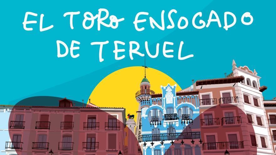 El Ayuntamiento de Teruel difunde la tradición del toro ensogado a través de un folleto que incluye actividades infantiles