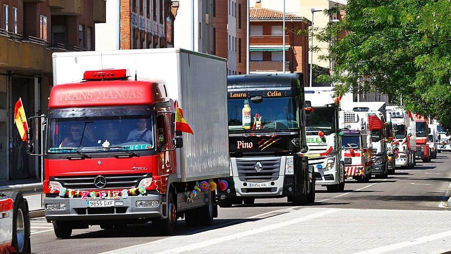 La fuerte caída de sueldos por la crisis COVID deja a los camioneros zamoranos sin relevo
