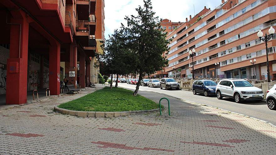 El Ayuntamiento de Zamora completa la renovación de aceras en Cardenal Cisneros