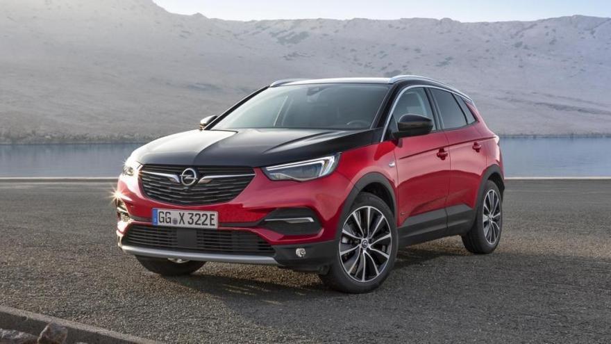 Conocemos el Opel Grandland X Hybrid4