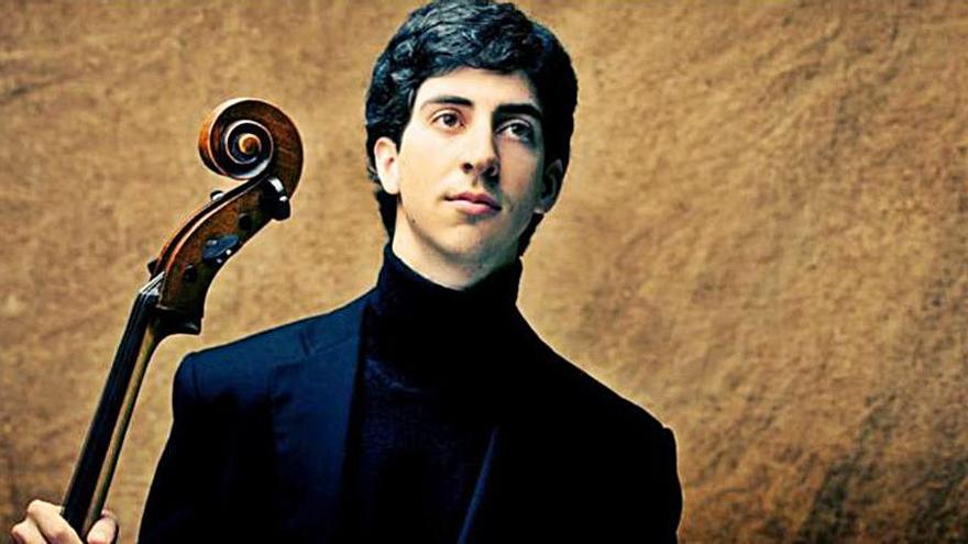 El violonchelista Lorenzo Meseguer, mañana con la Sinfónica