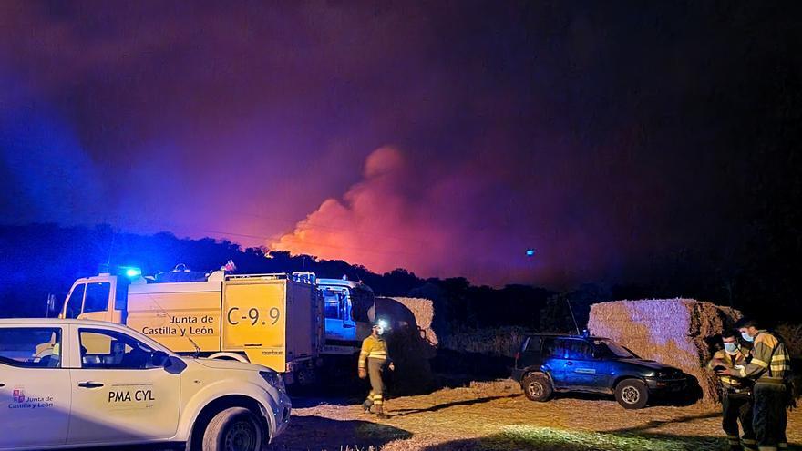 VÍDEO | El incendio de Carracedo de Vidriales baja a nivel 0 de peligrosidad