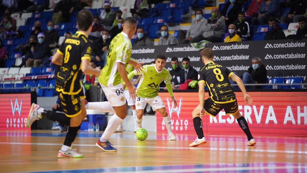 El Palma sumó su tercera derrota consecutiva ante el Jaén.