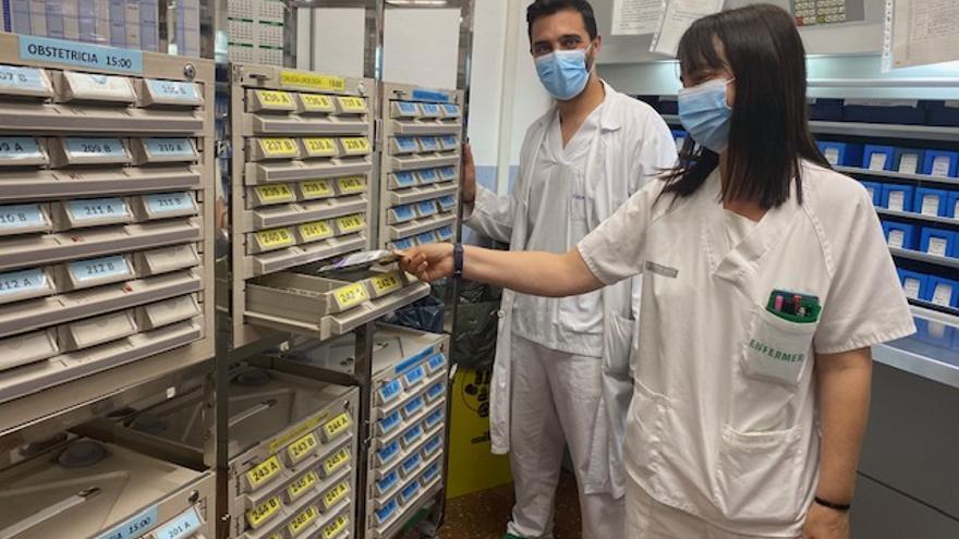 El servicio de Farmacia del Hospital Vega Baja amplía su sistema de dispensación de medicamentos