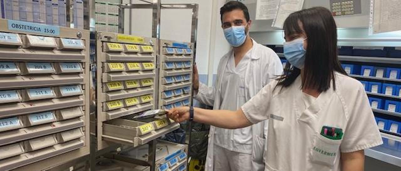 Servicio de Farmacia del Hospital Vega Baja.