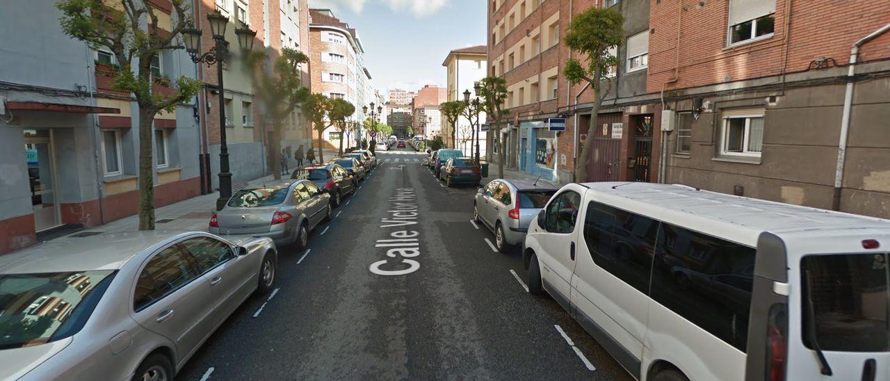 Una imagen del barrio donde apareció la niña.