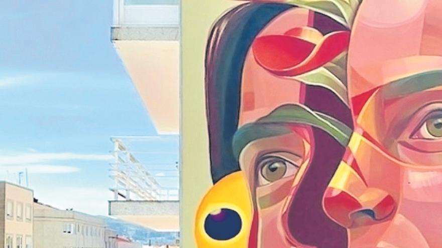 Arte urbano a todo color