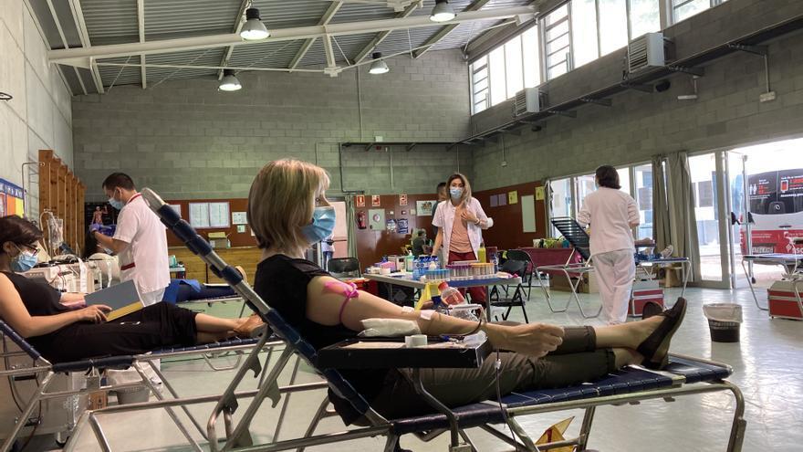 Donar sang, també a l'estiu