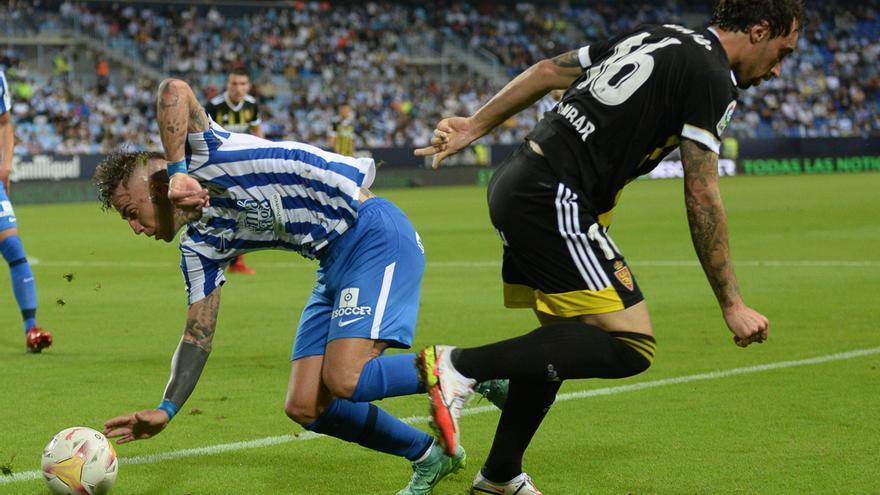 El Zaragoza firma la segunda peor marca goleadora de su historia