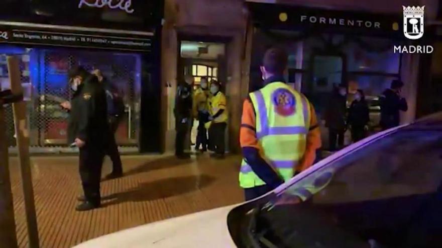 Detenido el supuesto autor de la muerte de un hombre a puñaladas en Madrid