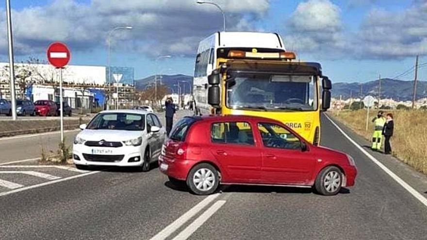 Accidente en la Carretera Vieja de Sineu