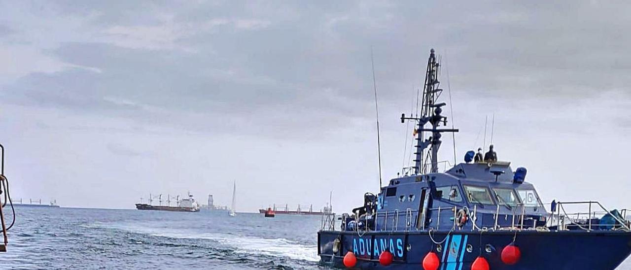 Canarias, epicentro de la lucha contra la nueva ruta del hachís