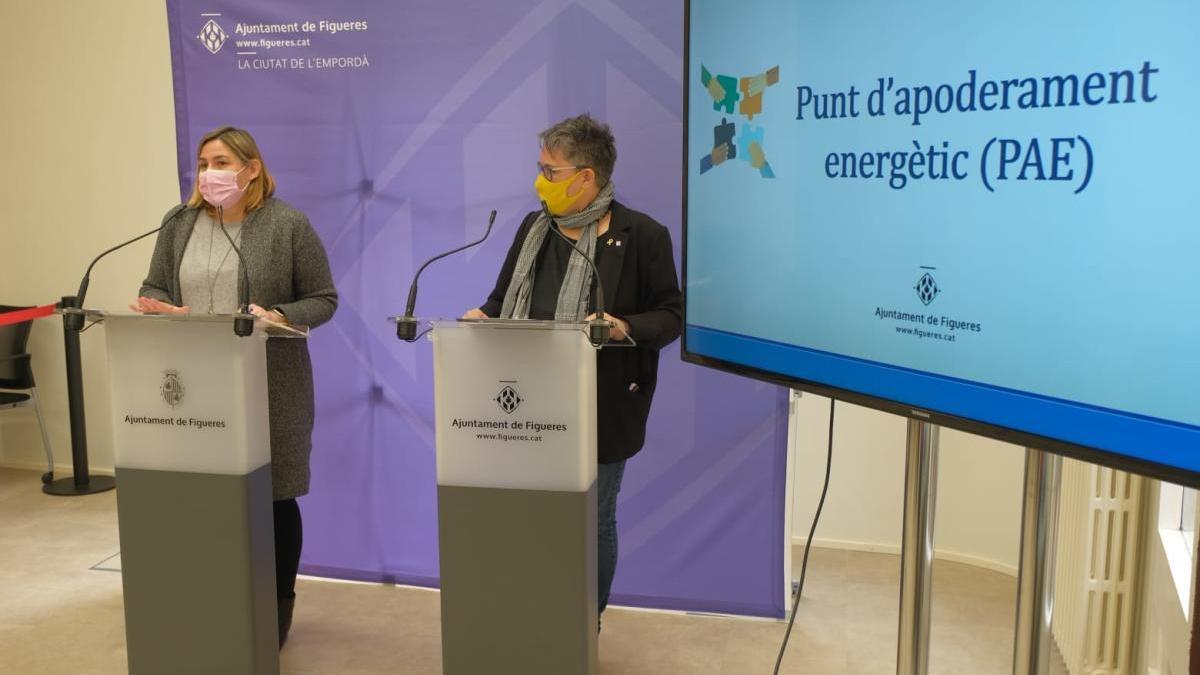 L'Ajuntament de Figueres ha presentat avui la memòria del Punt d'Apoderament Energètic (PAE) de 2020