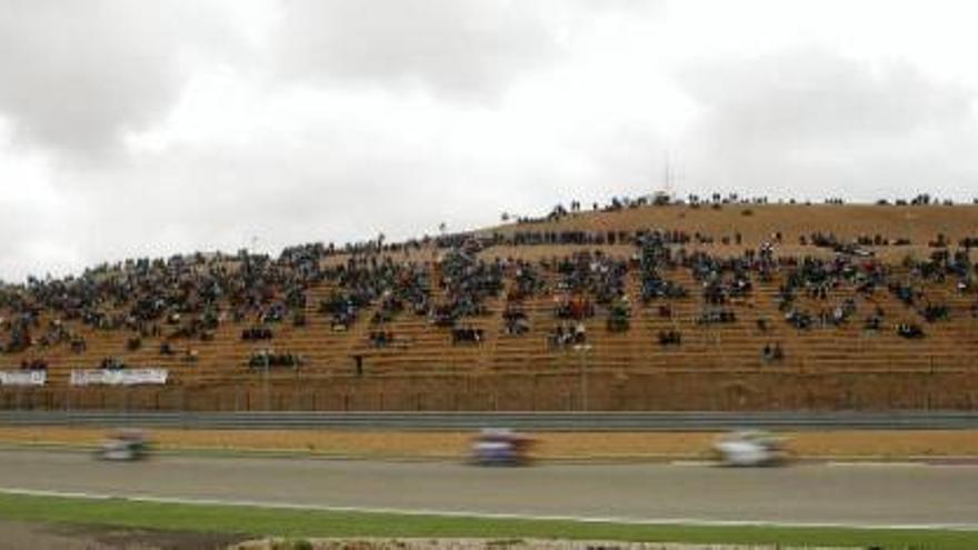 Fotogalería de la sesión clasificatoria en Alcañiz